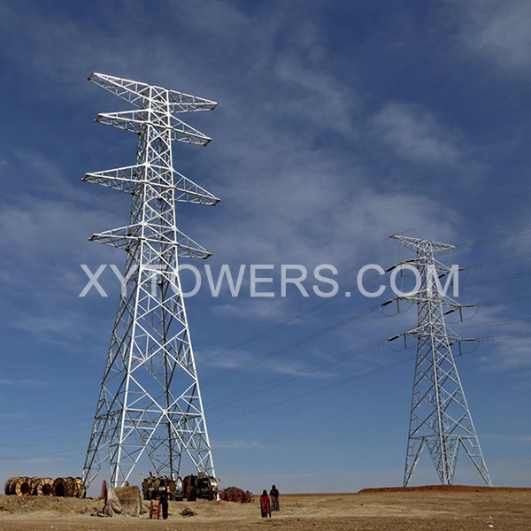 330kV-double-loop-transmission-tower