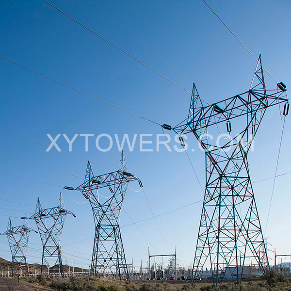 330kV-single-loop-Y-type-transmission-tower